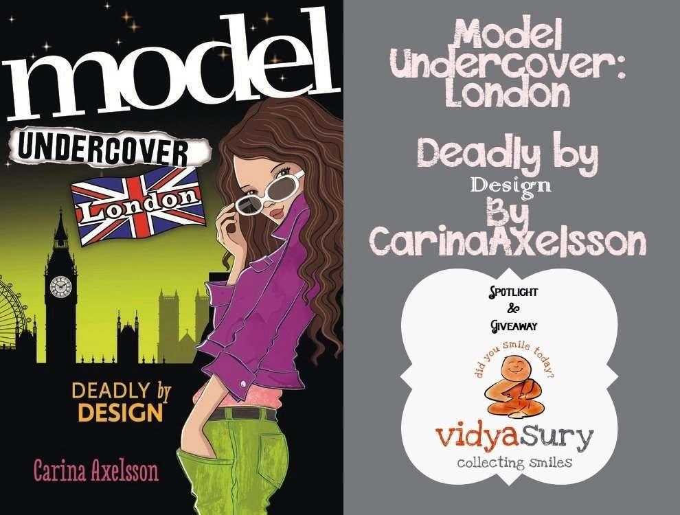 Model Undercover London Spotlight - Vidya Sury