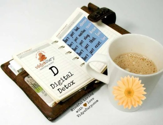 Digital Detox Vidya Sury