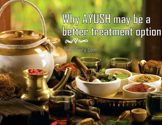 Why AYUSH May Be a Better Treatment Option