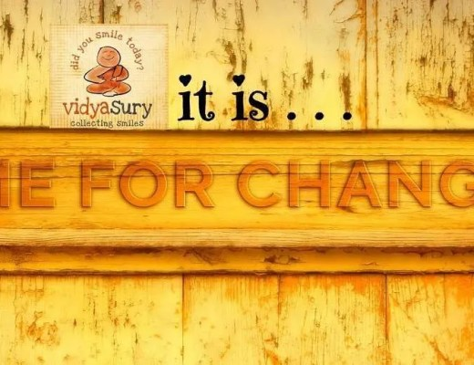 Change your perspective change your life Vidya Sury
