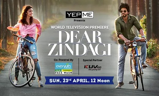Dear Zindagi world television premiere
