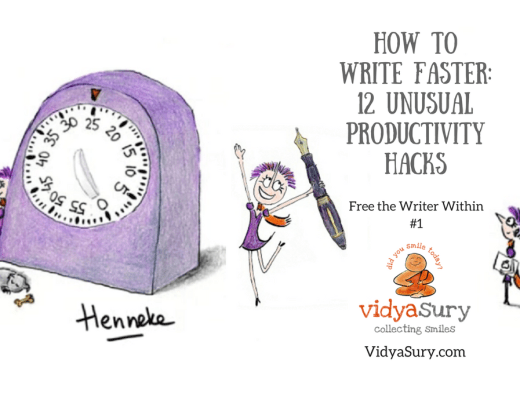 """New series """"Free the writer within"""" How to Write Faster: 12 Unusual Productivity Hacks"""
