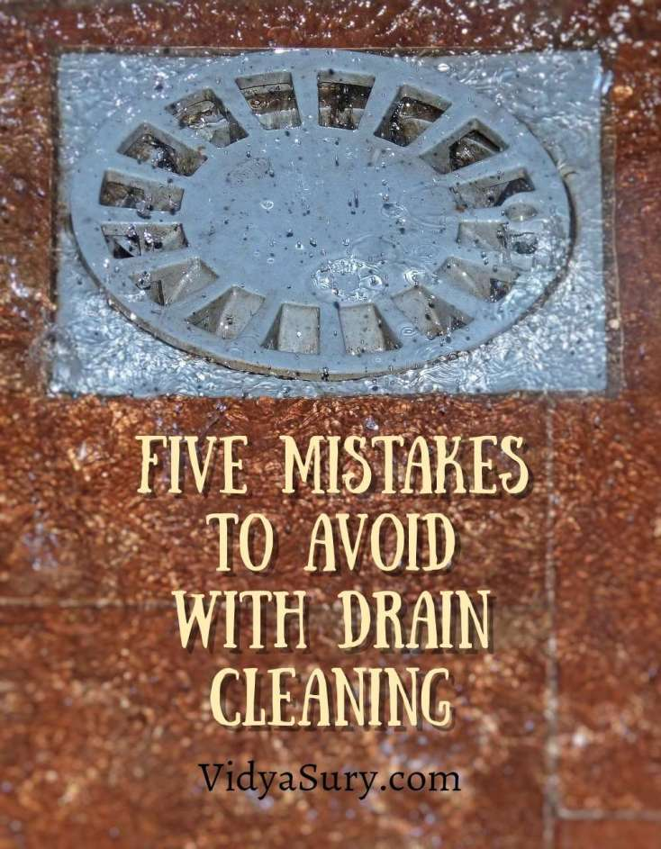 Five Drain-cleaning Mistakes To Avoid With a Clogged Drain #home #plumbing #DIY