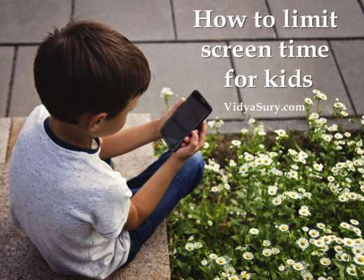 How to limit screen time for kids #parenting #kidshealth #screentime
