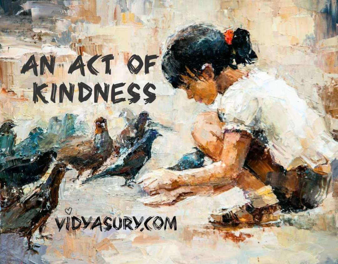 An Act of Kindness #AtoZChallenge #Gratitude