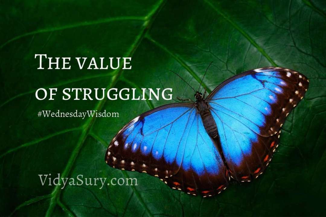 The value of struggling #WednesdayWisdom #lifelessons