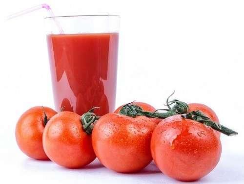 Kitchen remedies Tomato juice