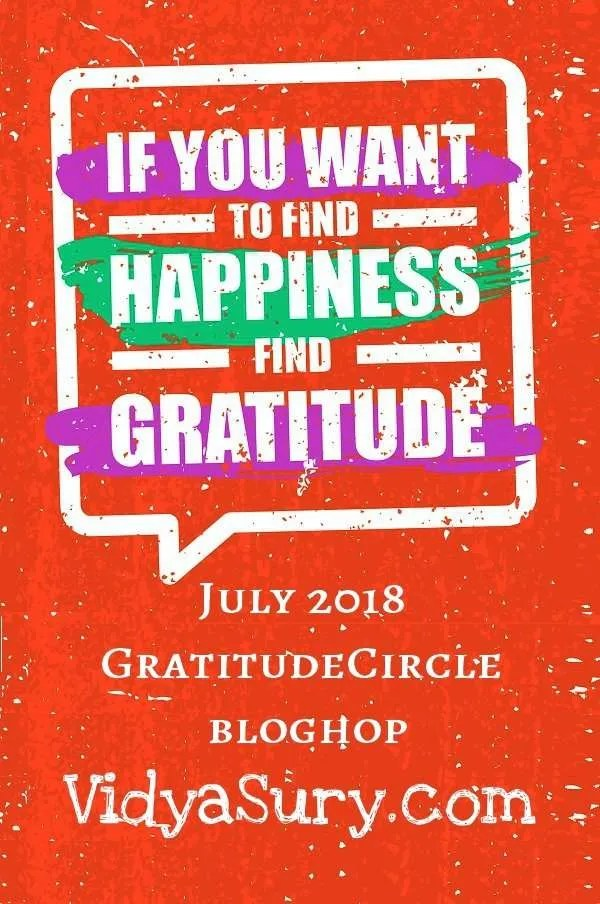 If you want to find happiness, find gratitude #GratitudeCircle #Happiness #Mindfulness