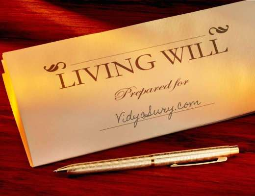 Why you must make a Living Will