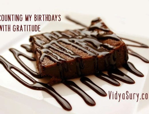 counting my birthdays with gratitude. September gratitude circle blog hop