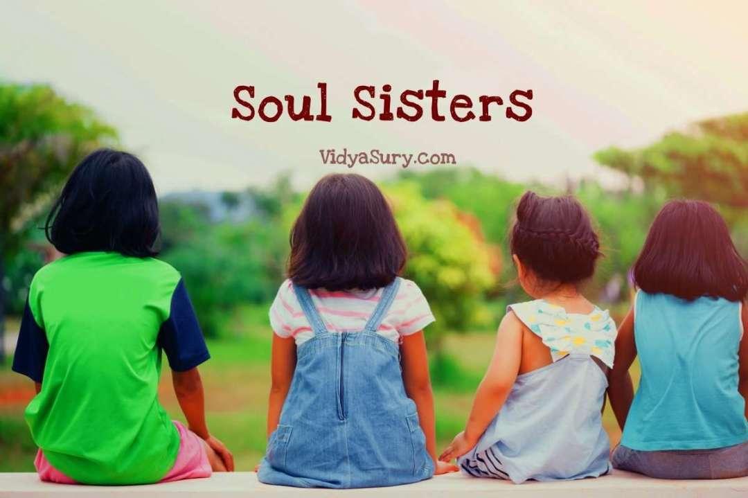 Soul sisters #SiblingStories #SiblingTalk