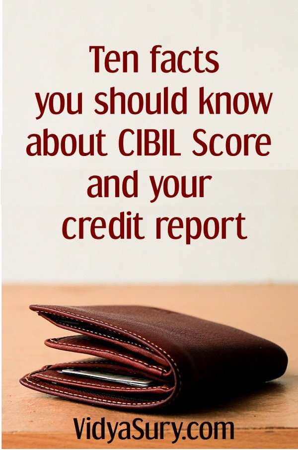 Ten facts you should know about CIBIL score and your credit report #finance #moneymatters #creditreport #CIBILScore