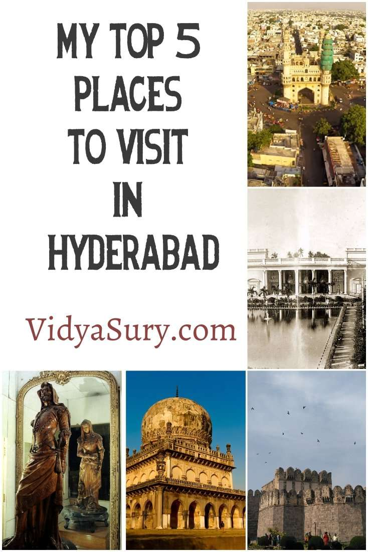 5 places you should not miss in Hyderabad #incredibleindia #travel #hyderabad