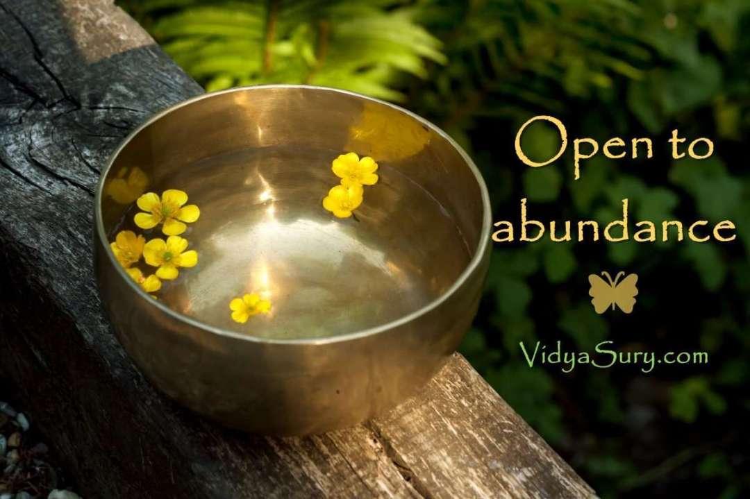 Open to abundance #gratitudeCircle