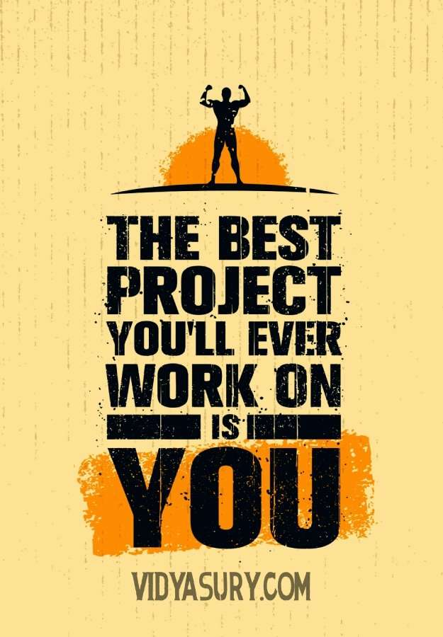The best project you will ever work on is you. #personaldevelopment #inspirationalquotes #selflove #thrive #inspiringstory