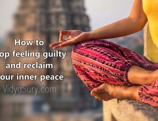 How to stop feeling guilty and reclaim your inner peace