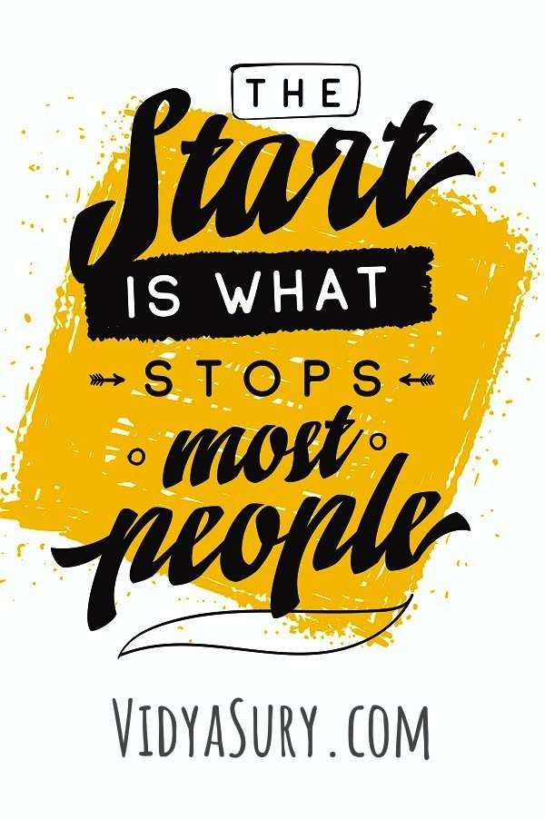 The start is what stops most people. #motivationalquotes #inspiringquotes