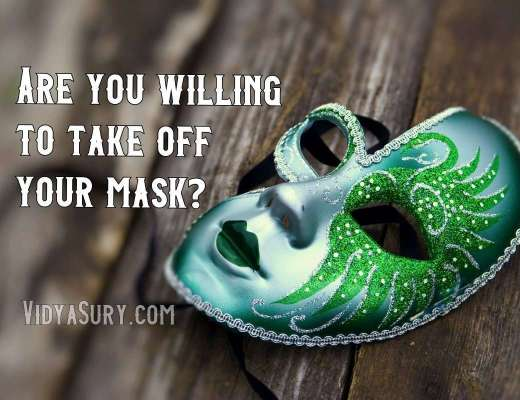 Are you willing to take off your mask