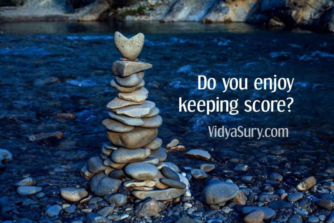 Do you enjoy keeping score #wednesdaywisdom