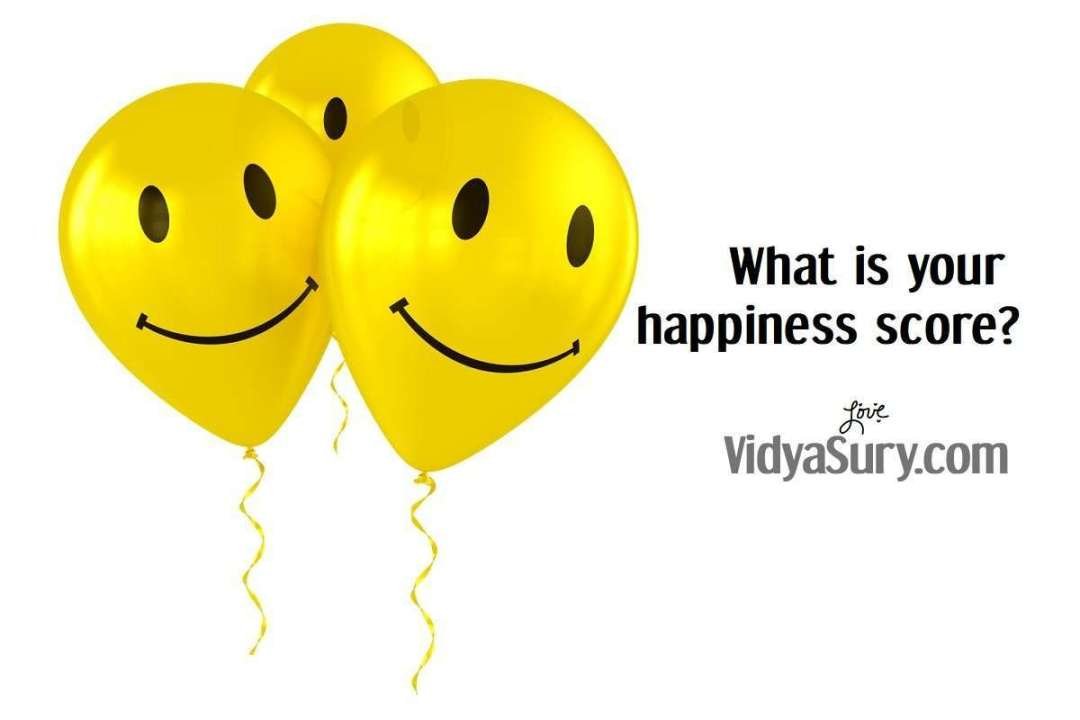 What is your happiness score today? Take the survey!
