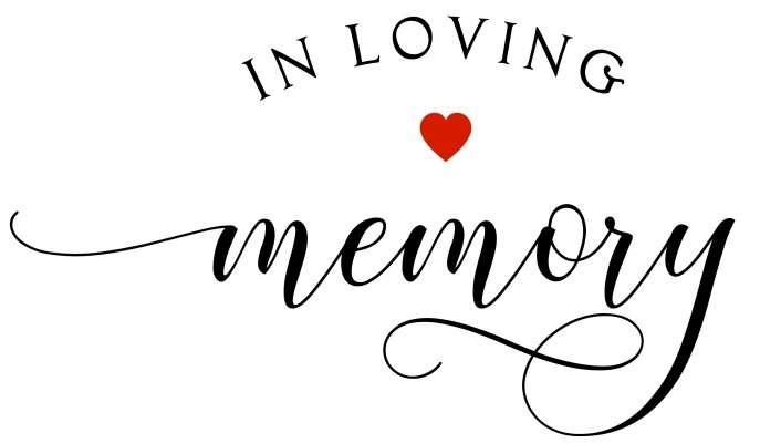 In loving memory my mom my self