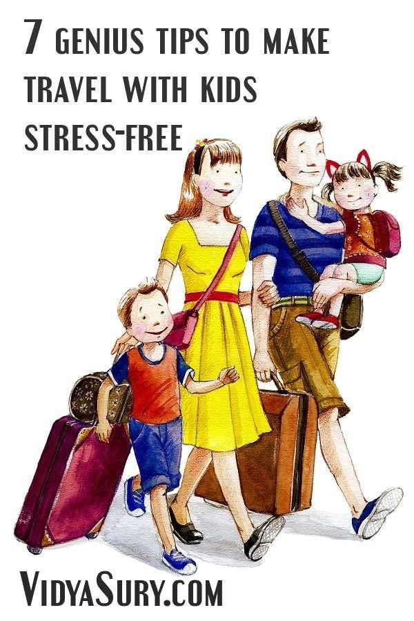 7 genius tips to make travel with kids stress free