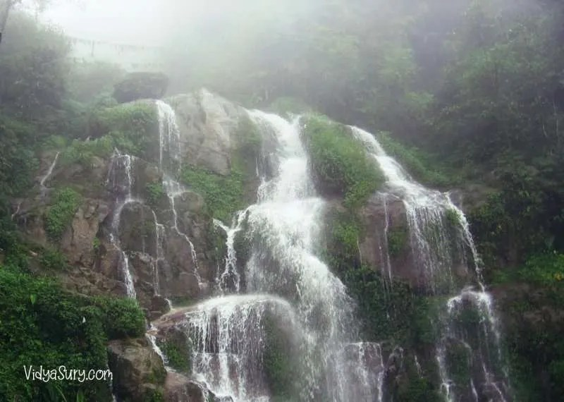 Bakthang falls Gangtok Ten destinations I would love to visit again