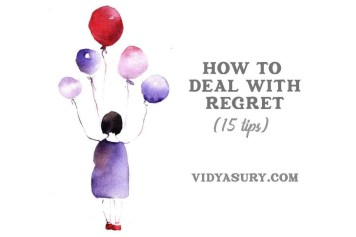 How to deal with regret