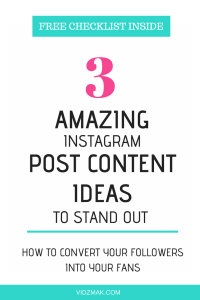 3 content ideas to convert Instagram followers into fans