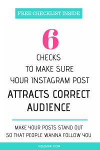 6 checks to make Instagram post stand out