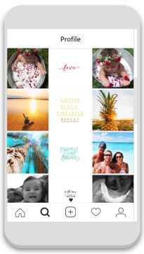 saltipineapple's consistent Instagram feed