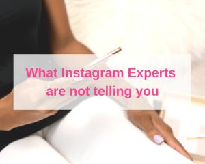 Instagram experts
