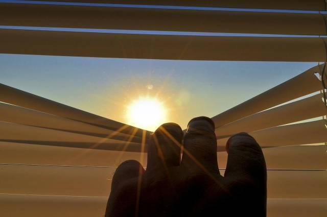 store pour protéger du soleil