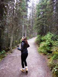 Rando vers Agnès Lake
