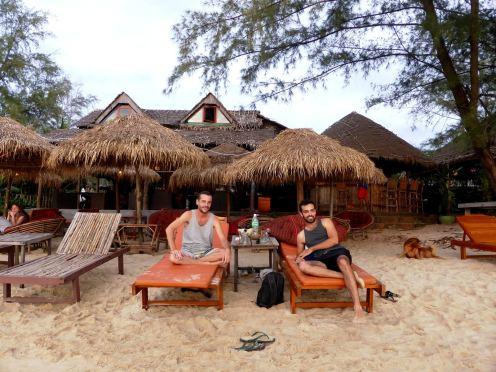Otres Beach Sud du Cambodge