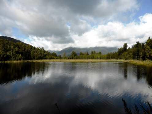 l'île du Sud-Lake Matheson (1)