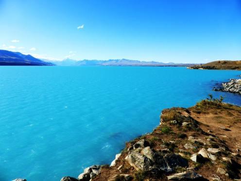 l'île du Sud-Pukaki Lake (3)