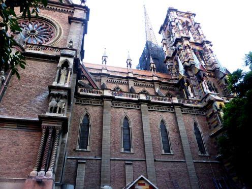 Iglesia de los Capuchinos, Cordoba-Argentine en stop