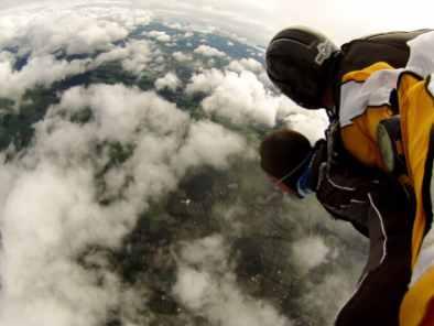 skydive-île du Nord