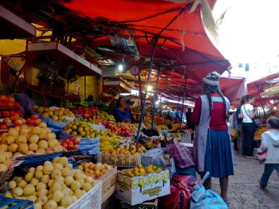 Central Mercado, Sucre-Bolivie