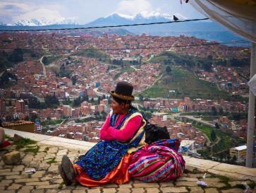 Vue de El Alto-Bolivie