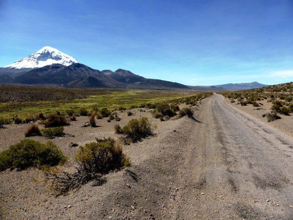 Seuls au Parc de Sajama-Bolivie