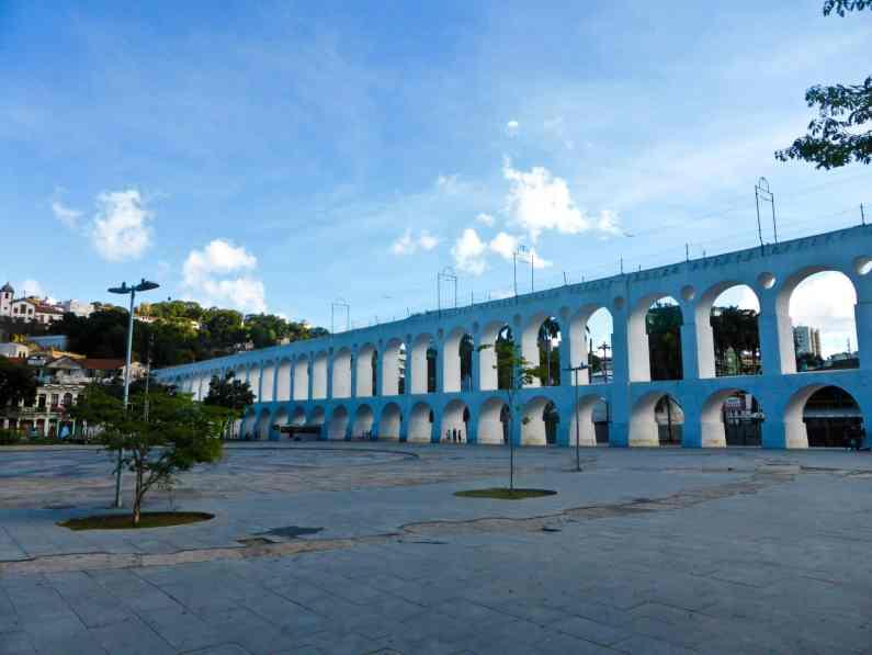 Quartier Lapa-Rio de Janeiro-Brésil