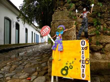 Rue Paraty-Brésil