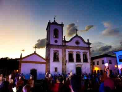 Eglise Paraty-Brésil