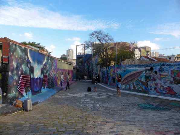 Beco do Batman-Sao Paulo-Brésil