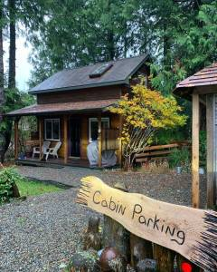 Lazy Bear Cabin Ucluelet Vancouver Island