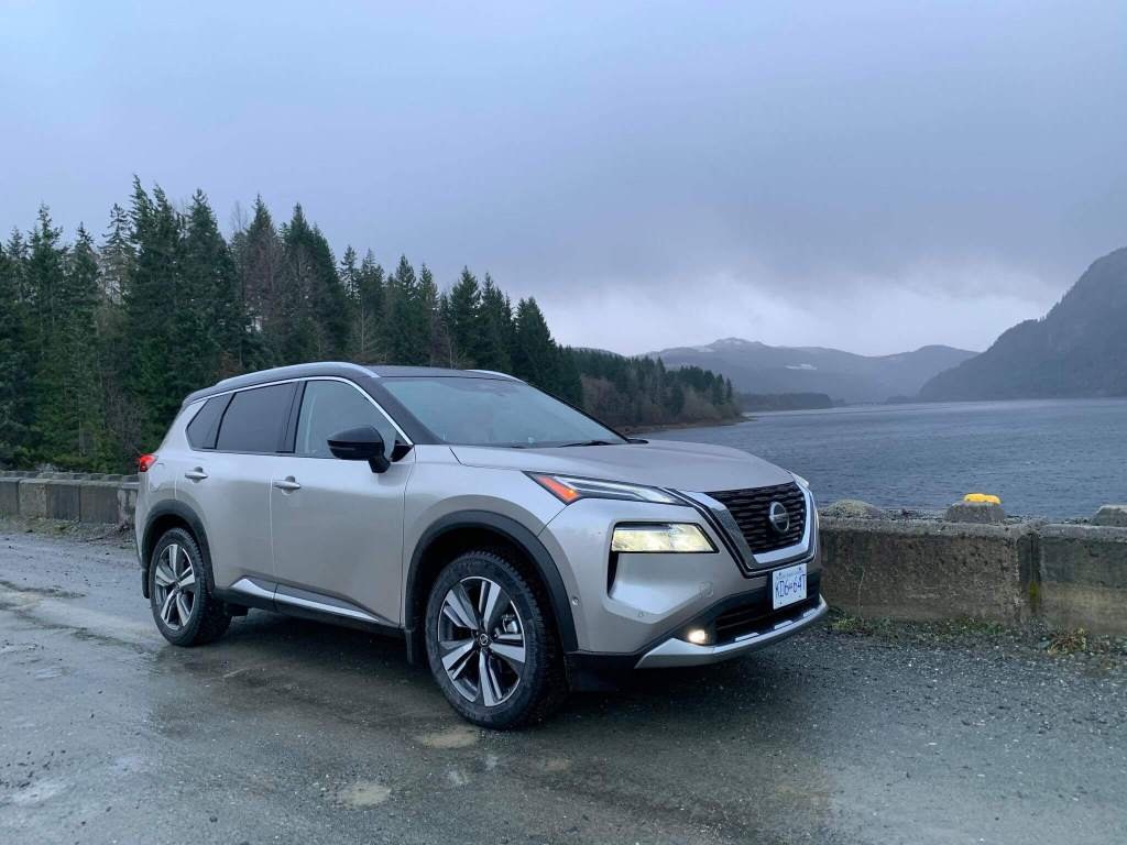 Vancouver Island In The 2021 Nissan Rogue Rain