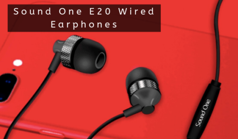 Sound E20 Wired Earphones
