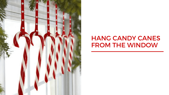Red and White Christmas Tree Decoration Ideas